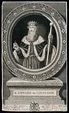King Edward the Confessor, holding a ring and a sceptre