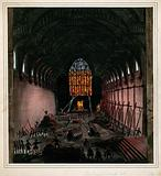 Westminster Hall: fire-fighters preventing the fire of 1834 from entering the hall