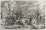 Carthaginian soldiers preparing the martyrdom of Attilius Regulus