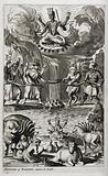 Vishnu in his incarnation as Kurma the turtle
