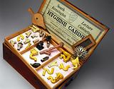 Models of hygienic sanitary appliances, England, 1895