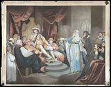 Catharine of Aragon pleading her cause before King Henry VIII