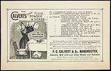 Use Calvert's carbolic fluid, powder and soaps