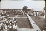 Dichpali, Hyderabad: laying the foundation stone of the new men's hospital at the leprosy hospital