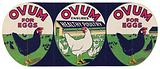 Ovum for eggs: Ovum ensures healthy poultry / (J Thorley Ltd