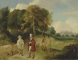 JMW Turner and Walter Fawkes at Farnley Hall