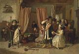 """Children Acting the 'Play Scene' from """"Hamlet,"""" Act II, Scene ii"""