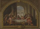 Sketch for 'The Last Supper,' St Mary's, Weymouth