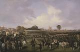 Lord Westminster's Cardinal Puff, with Sam Darling Up, Winning the Tradesman's Plate, Chester