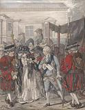 Margaret Nicholson Attempting to Assassinate His Majesty, George III, at the Garden Entrance of St James's Palace, 2nd …
