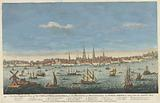 An East Perspective View of the City of Philadelphia, in the Province of Pensylvania, in North America, taken from the …