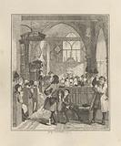 Jack Sheppard Committing the Robbery in Willesden Church