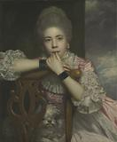 """Mrs Abington as Miss Prue in """"Love for Love"""" by William Congreve"""