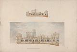 Windsor Castle, Berkshire: Elevation of the North Terrace