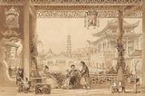 The Terrace of a Mandarin's House in Peking