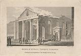 Ruins of St Paul Covent Garden