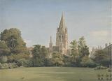 View from the Dean's Garden, Christ Church, Oxford