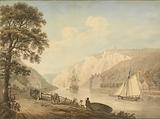 The River Avon: with Passing Vessels