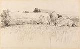 Cornfields with Barn, Shoreham
