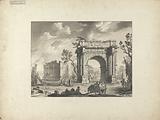 Plate twenty-one: Arch at Zanfour