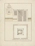 Plan and Section of the Mikeas or Kiosc with the Pillar Where on Is Measured the Daily Increase of the Nile During …