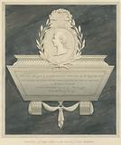 Memorial to Lady Caroline Adair, her two children, Caroline and Amelia and her husband Robert Adair form Acton Church