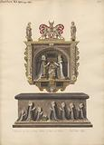 Memorial to Lord and Lady Latimer and Tomb of the children Ralph, Katherin, Ralph, Dorothye, Jane, Margaret and Anne …