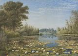Scene near Shipton on Cherwell, Oxfordshire
