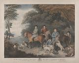 To his Grace the Duke of Newcastle, this print of The Return from Shooting