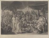 Colonel Mordaunt's Cock Match at Lucknow