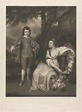 George Viscount Malden and Lady Elizabeth Capel