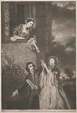 Charles James Fox, with Lady Sarah Lenox and Lady Susan Strangways