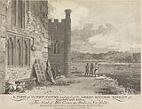 A View of the New Tower and part of the Great Kitchin Window of Arundel Castle, Sussex (published by J Sewell)