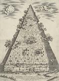 Sepulchrum C Cestii Epulonis Ostensi Via Et Pyramide Et Marmore Quadrato Nobilissimum Atque Omnium Vetustissimum