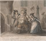 """Falstaff's Escape – """"The Merry Wives of Windsor,"""" Act IV, Scene II"""