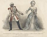 Mr WJ Hammond and Miss Daly as Othello and Desdemona at the New Strand Theatre