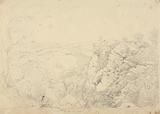 Sketch of Chudleigh Rocks, Devon