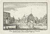The South East View of Kensington Church