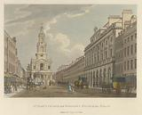 St Mary's Church and Somerset House in the Strand
