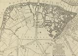 A Plan of Streets and Roads, between Black Fryers Bridge, London Bridge, Westminster Bridge, Lambeth, Newington Butts, …