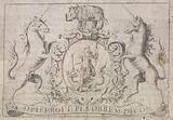 Coat of Arms with the mottos 'Honi soit qui mal y pense' and 'Dieu et mon Droit'