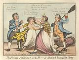 The Female Politicians, Or – The D____ss Defending the Honour of Old Corny