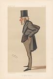 Vanity Fair – Bankers and Financiers. 'Old Mother Hubbard'. The Rt. Hon John Jellibrand Hubbard. 4 October 1884.
