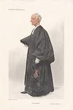 Vanity Fair – Clergy. 'The Chaplain'. Archdeacon Wilberforce. One of a set.