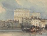 The Banqueting House, Whitehall, from the River