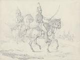 """Scraps"", No 39: Mounted Hussars"