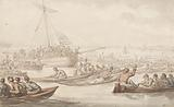 The Annual Sculling Race for Doggett's Coat and Badge