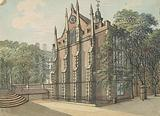 Southwest View of Middle Temple