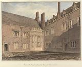 View in the Court of Compton Winyate, Warwickshire