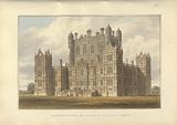 South East View of Wollaton Hall. Nottinghamshire; the Seat of Lord Middleton.